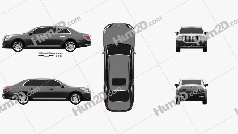 Emgrand GE 2014 car clipart
