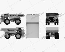 Euclid R260 Dump Truck 1996