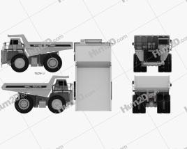 Euclid R90 Dump Truck 1997