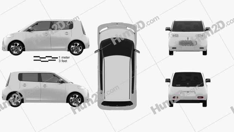 Euler White Cat 2021 car clipart