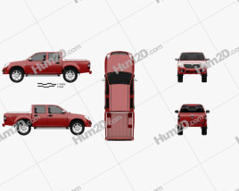 FAW Kun Cheng 2011 car clipart