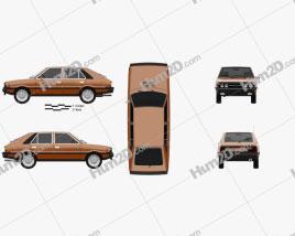 FSO Polonez 1978 car clipart