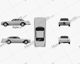 Facel Vega Facel II 1962 car clipart