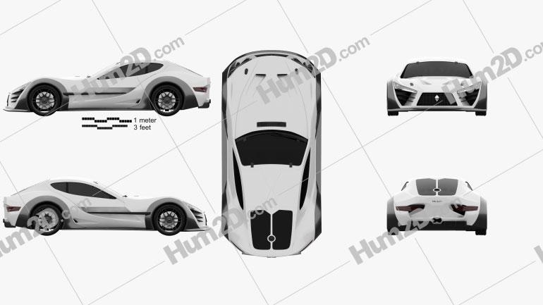 Felino cB7 2016 car clipart