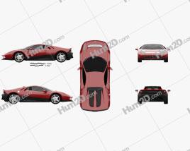 Ferrari SP12 EC 2012 car clipart