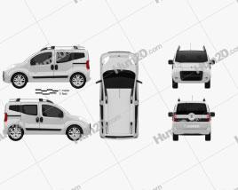 Fiat Fiorino Qubo 2011 clipart