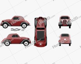 Fiat 500 Topolino 1936