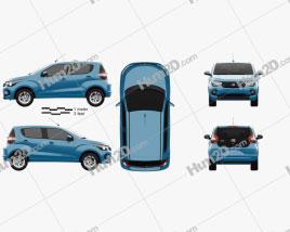 Fiat Mobi Like On 2017 car clipart