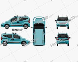 Fiat Fiorino Premio 2016 car clipart