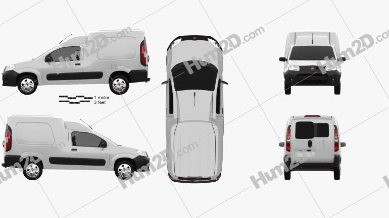 Fiat Fiorino 2015 clipart