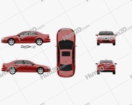 Ford Fusion Sport 2010 car clipart