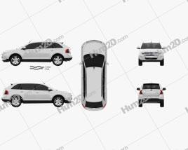 Ford Edge 2012 car clipart