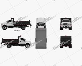 Ford F-750 Dump Truck 2012