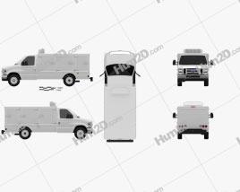 Ford E-Series DCI Pro 2011 clipart