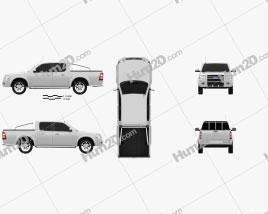 Ford Ranger Double Cab 2003 car clipart