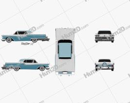 Ford Fairlane 500 Galaxie Skyliner 1959
