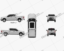Ford F-150 Super Crew Cab XLT 2014