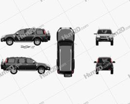 Ford Endeavour 2014 car clipart