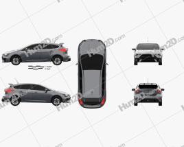 Ford Focus hatchback RS 2014