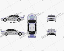 Ford Falcon (FG) V8 Supercars 2015