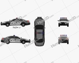 Ford Taurus Police Interceptor Sedan 2013