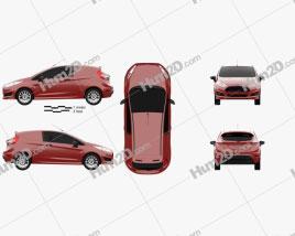 Ford Fiesta Van 2014
