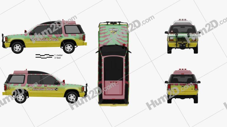 Ford Explorer Jurassic Park 1993