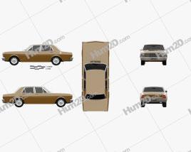 Ford Falcon 1968 car clipart