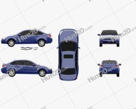 Ford Focus SES (US) sedan 2007