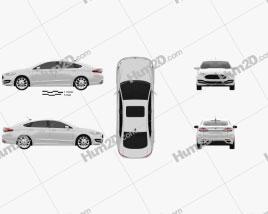 Ford Mondeo (Fusion) Vignale 2015