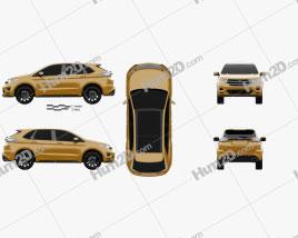 Ford Edge Sport 2016 car clipart