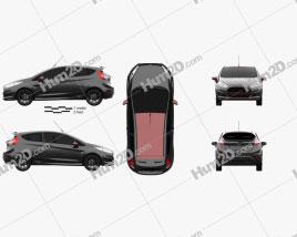 Ford Fiesta Zetec S Black Edition 2014