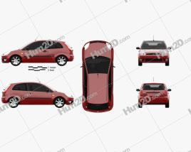 Ford Fiesta hatchback 3-door 2002