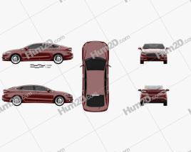Ford Mondeo hatchback 2014
