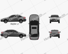 Ford Focus SE US-spec sedan 2007