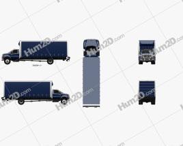Ford F-750 Box Truck 2004