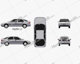 Ford Mondeo hatchback 1993