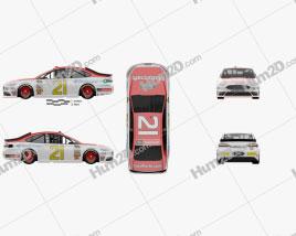 Ford Fusion NASCAR 2017 car clipart