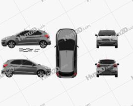 Ford Ka plus Ultimate hatchback 2019