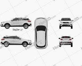 Ford Territory CN-spec 2019 car clipart