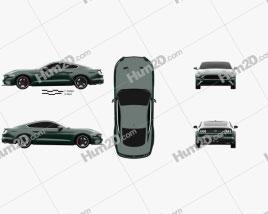 Ford Mustang Bullitt coupe 2019 car clipart