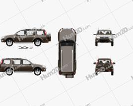 Ford Everest com interior HQ 2012 car clipart