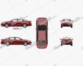 Ford Fusion Titanium with HQ interior 2017