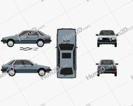 Ford Escort hatchback 1980