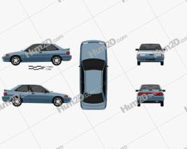 Ford Escort GT hatchback 1992