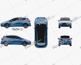 Ford Fiesta 3-door ST 2019