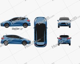 Ford Fiesta 5-door ST 2019