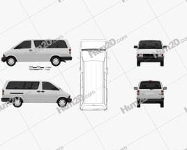 Ford Aerostar XL 1991 clipart