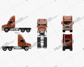 Freightliner Century Class Tractor Truck 2011