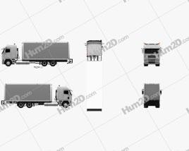 Freightliner Argosy Box Truck 2003